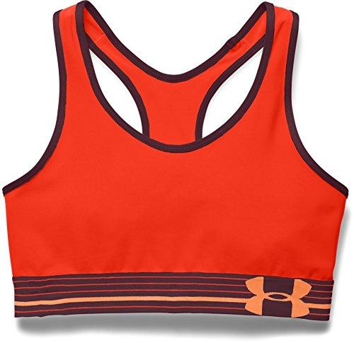 UNDER ARMOUR Armour still gotta - Sujetador de deporte para mujer Naranja (Orange Foncé)