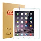 New iPad 9.7 2017/2018 Glass Screen Protector, SENGBIRCH 9H Hardness Tempered Film for iPad 5th/6th Generation, iPad Air 1, iPad Air 2, iPad Pro 9.7.