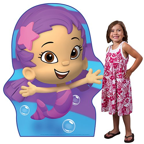 4 ft. 9 in. Bubble Guppies Oona Standee Standup Photo Booth Prop Background Backdrop Party Decoration Decor Scene Setter Cardboard Cutout -