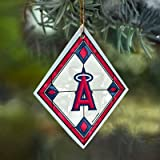 Anaheim Angels - Art Glass Ornament