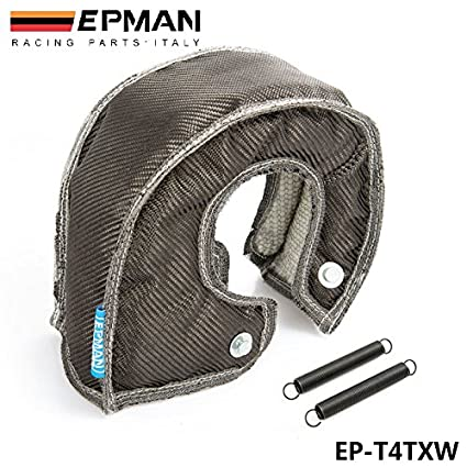 Amazon.com: EPMAN Carbon Fiber Turbo Blanket heat shield Cover High Performance For T4 GT45 GT40 GT47 EP-T4TXW: Automotive