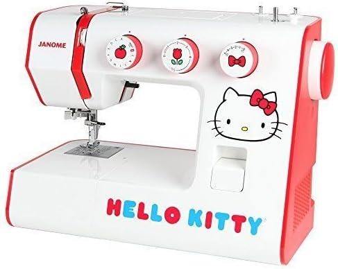 Janome Hello Kitty 15822 Heavy-duty 22-stitch de aluminio máquina ...