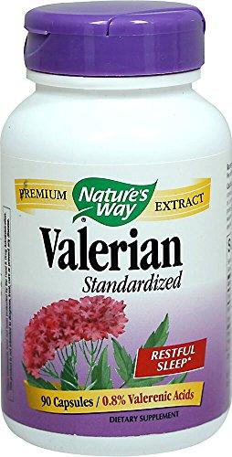 (Nature's Way Valerian Standarized 90 Vegetarian Capsules)