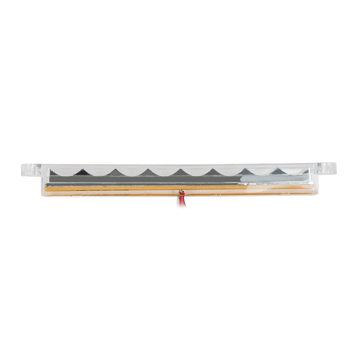 GG Grand General 74761 Light Bar 6-1//2 Pearl Amber//Clear 8LED, 3 Wires