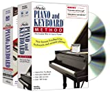 Software : eMedia Piano and Keyboard Method Deluxe v3 (2 volume set)