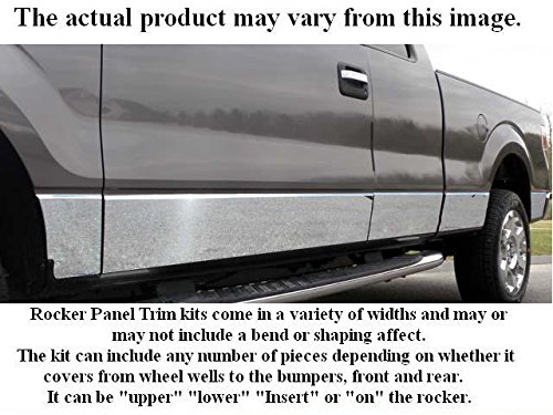 RAM 1994-2001 DODGE (10 Pc: SS Rocker Panel Body Accent Trim, 8.75