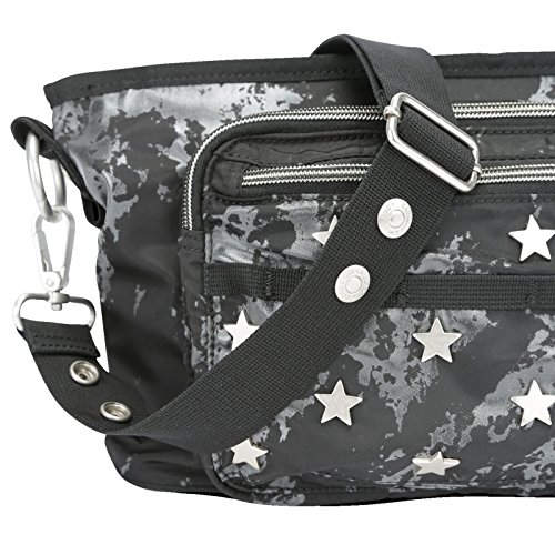 GEORGE GINA & LUCY Nylon Baby Baby2stroll Black Stars