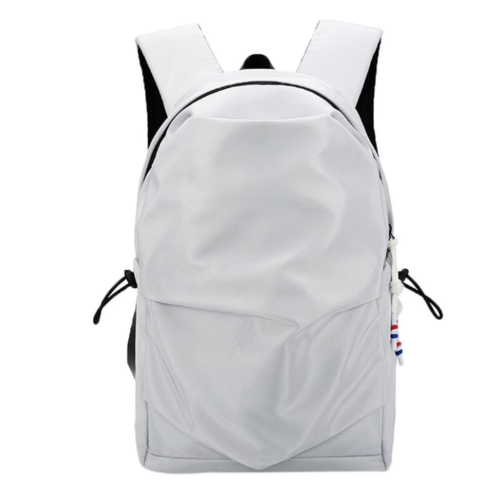 Jchen(TM) Clearance Sale! Lightweight Foldable Sport Outdoor Backpack Waterproof Bag Portable Men Women Backpack Travel (Gray)