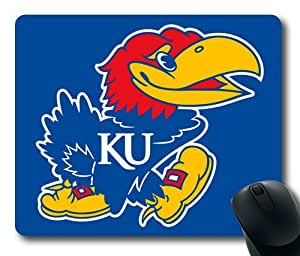 Kansas Jayhawks Rectangle Mouse Pad by eeMuse