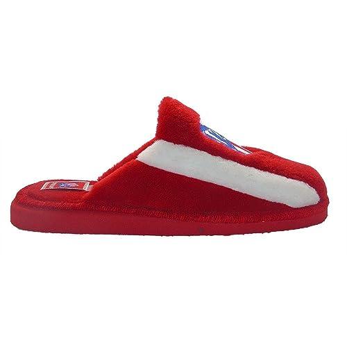 FUTBOL Zapatillas de casa Atlético de Madrid 24 al 34-33: Amazon.es: Zapatos y complementos