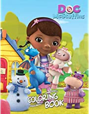 Doc McStuffins Coloring Book: Coloring Book, For Kids Ages 4-8 , 8-12, Gift For Kids, Crafts For Boys and Girls