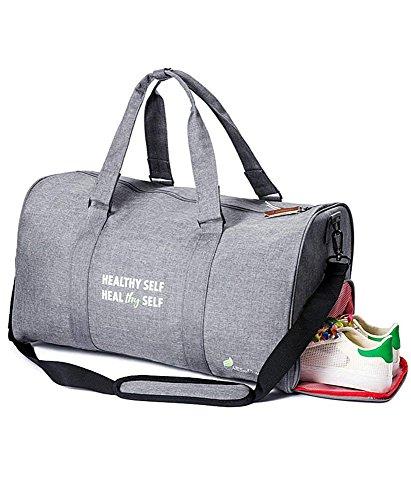 5a9f1945e1 1 · Sports Duffel Gym Bag for Men   Women By All Soul Great- Weekender Sport  Bag