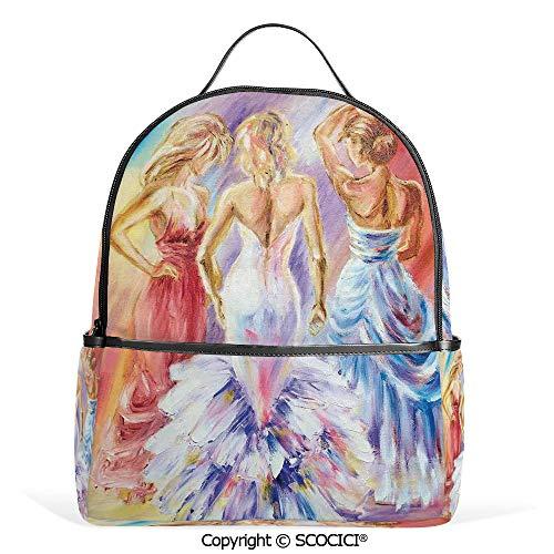 Lightweight Chic Bookbag Picture of Elegant Sophisticated Dressed