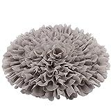 Handcraft Soft Chiffon Round Flower Blanket Newborn Photography Props