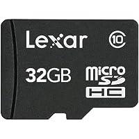 Lexar microSDHC 32GB Mobile Flash Card LSDMI32GABNL