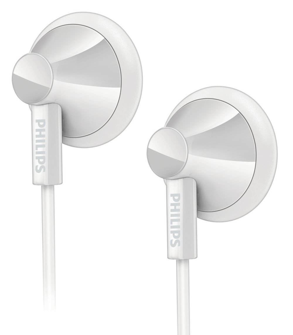 Philips SHE2100WT/28 In-Ear Headphones - White