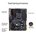 ASUS-TUF-Gaming-B450-PLUS-II-AMD-AM4-Ryzen-5000-3rd-Gen-Ryzen-ATX-Gaming-Motherboard-DDR4-4400OC-HDMI-20b-USB-32-Gen-2-Type-C-BIOS-Flashback-256Mb-BIOS-Flash-ROM-AI-Noise-Cancelling-Mic