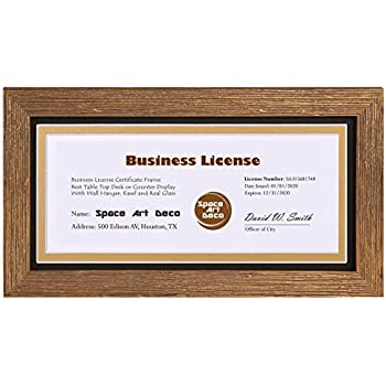 Space Art Deco 5.5x8.5 Dark Brown Textured Frame - Easel Stand - D ...