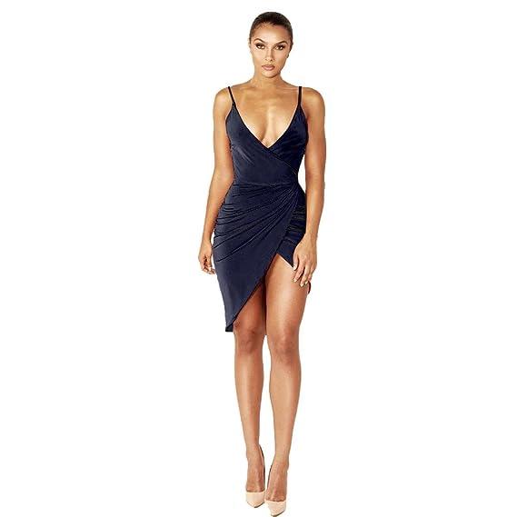 Amazon vestidos de fiesta cortos elegantes