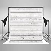 Kate 5x7ft White Wood Floor Photography Backdrops Wooden Wall Photo Background