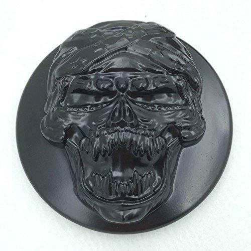 (HTT Black Skull Zombie Air Cleaner Intake Filter System Kit For Harley Sportster XL883 XL1200 1988-1990 1991 1992 1993 1994 1995 1996 1997 1998 1999 2010 2011 2012 2013 2014 2015 )