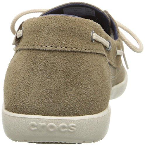 Barco Khaki Stucco Walu zapato Crocs Barco W Zapatos HxqzEaw6