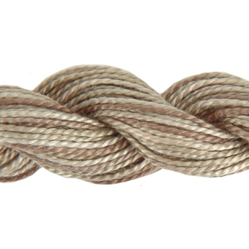 DMC 415 5-4145 Color Variations Pearl Cotton Thread, Size 5, 27-Yard, Sand - Thread Pearl Dmc Cotton Embroidery