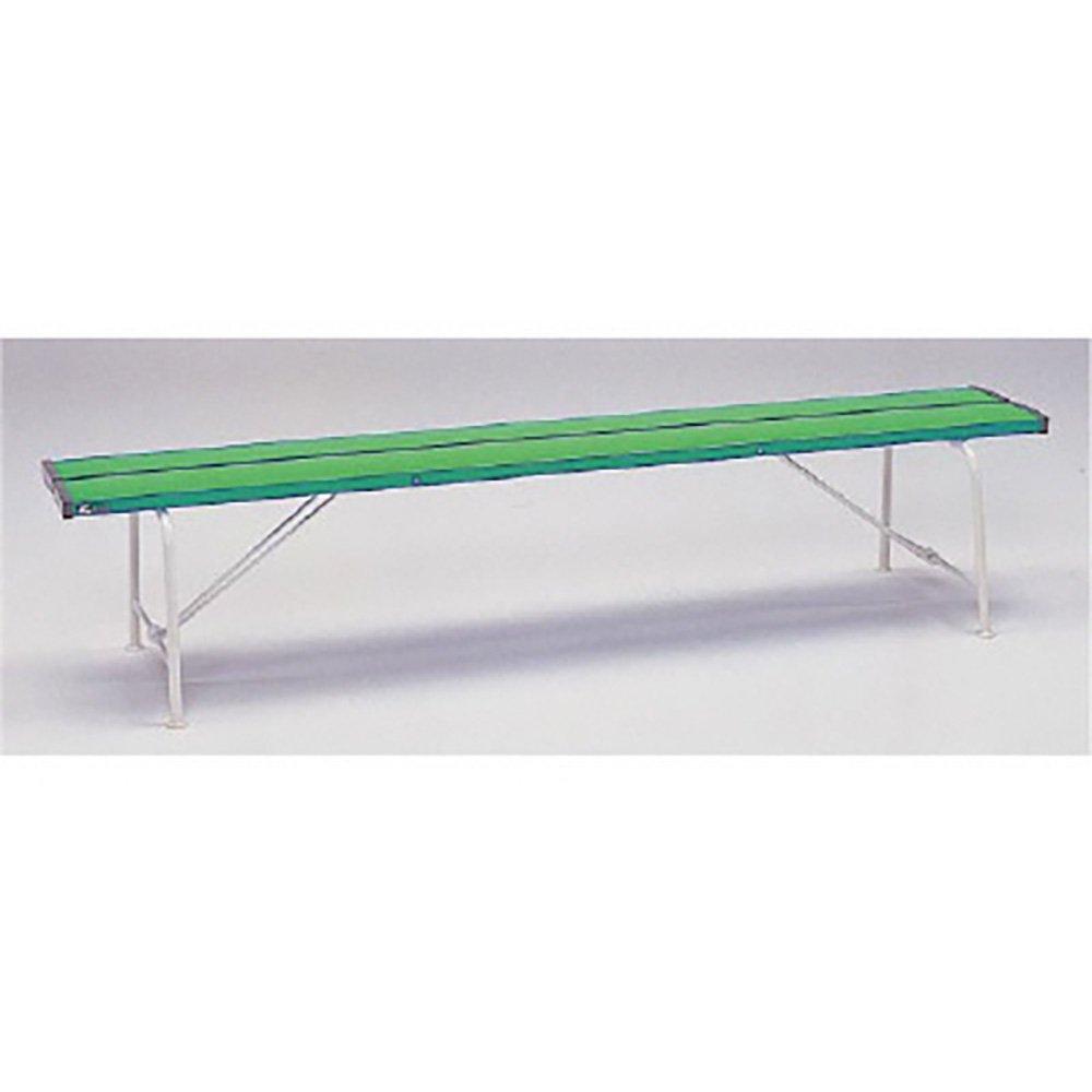 【376-81】ベンチ(背なし1800)緑色 B071W93BXW