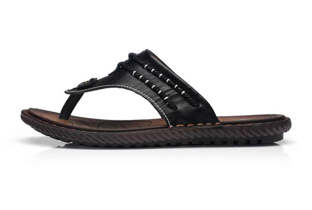 2017 estate sandali e ciabatte infradito in in in pelle dei nuovi uomini di flip-flop , 1 , US 11(EUR 44) 008036