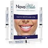 NovaWhite Teeth Whitening Gel Refill, 60 Treatments of Whitening Carbamide, Dentist Teeth Whitening Gel, Teeth Whitening Gel for Sensitive Teeth, Gel Syringe of Carbamide Peroxide Teeth Whitening