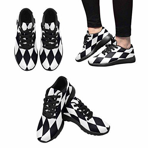 InterestPrint Womens Jogging Running Sneaker Lightweight Go Easy Walking Comfort Sports Running Shoes Multi 5 8zg4FZ