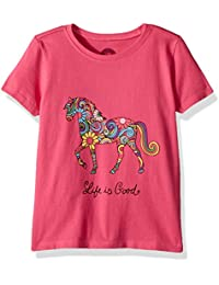 Toddler crusher tee Swirly Horse