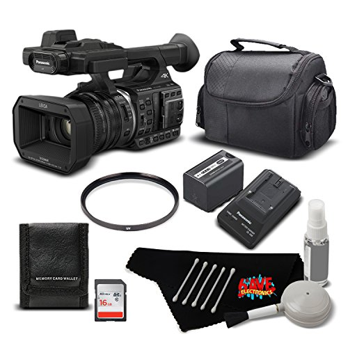 Panasonic HC-X1000 4K DCI/Ultra HD/Full HD Camcorder Standard Bundle- International Version