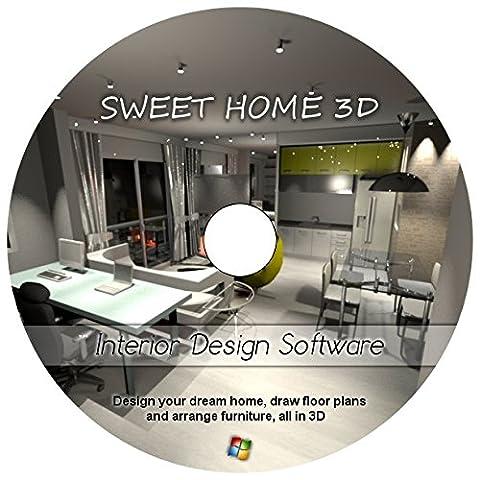 Sweet Home 3D Interior Home Design CAD Software v5.2 - Windows Version (Cad Program Software)