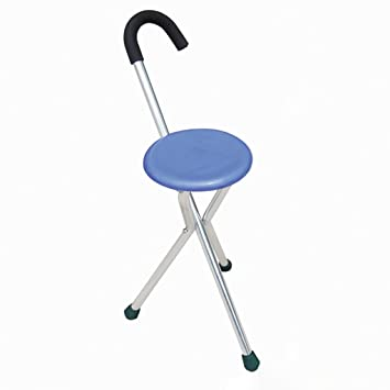 Astounding Portable Walking Chair Cane Stool From The Stadium Chair Pabps2019 Chair Design Images Pabps2019Com