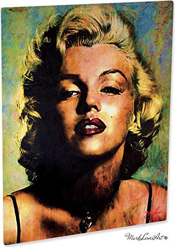 Marilyn Monroe Artwork Abstract Modern Paintings Signed Print   Wall Art I