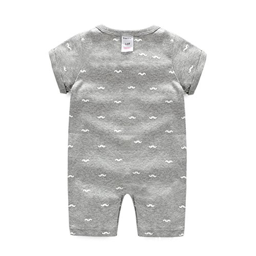 Ding Dong Baby Boy Girl Cotton Short-Sleeve Romper
