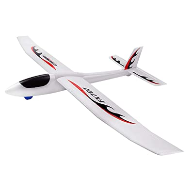 Mobiliarbus FX707S RC Airplane Hand Launch Glider Plane Throwing Airplane Soft Foam Airplane Aircraft Model DIY Toys for Kids: Toys & Games