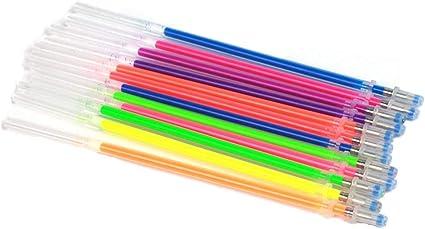 cosanter 48 unidades colores purpurina Bolígrafo de gel Bolígrafos de gel Set para colorear 48 Pack: Amazon.es: Oficina y papelería