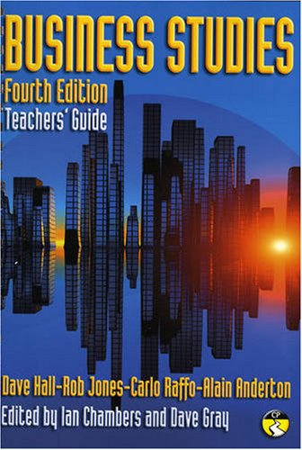business studies dave hall 4th edition