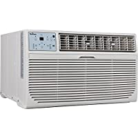 GARRISON 2477811 R-410A Through-The-Wall Heat/Cool Air Conditioner with Remote Control, 8000 BTU, White