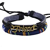 Best Real Spark Friend Necklace Boy And Girls - Real Spark Women Men Corded Friendship Charm Adjustable Review