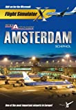 Mega Airport Amsterdam - Add on for FS 2004/FSX (PC CD)