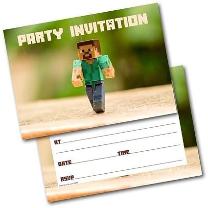 Invitaciones para fiesta de cumpleaños, paquete de 20 ...