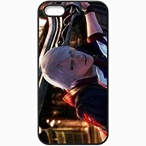 Personalized iPhone 5 5S Cell phone Case/Cover Skin Devil May Cry 4 Black