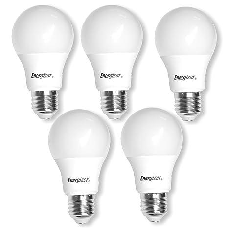 Energizer - Bombilla LED de bajo consumo regulable, E27, 9,2 W,