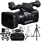 Sony PXW-X180 Full HD XDCAM Handheld Camcorder + 3PC Multi-Coated Filter Kit (UV+CPL+FLD) + 36 PIN LED Video Light + 6FT HDMI Cable + 36 PIN LED Video Light + 72-inch 3-way Panhead Tilt Motion with Two Built In Bubble Leveling Tripod + Heavy Duty Portable