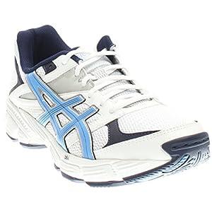 ASICS Women's Gel 190 TR Training Shoe, White/Periwinkle/Midnight Navy, 10 M US