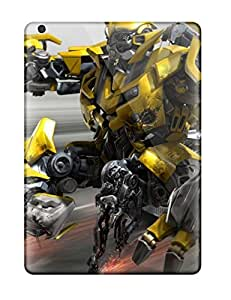 High Impact Dirt/shock Proof Case Cover For Ipad Air (bumblebee) by supermalls