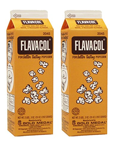 Gold Medal Products 2045 Flavacol Seasoning Popcorn Salt 35 OZ(Pack of 2)